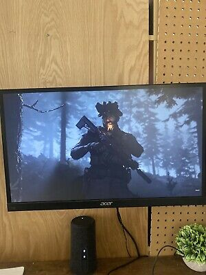 "2020 ACER 1080P IPS BORDERLESS 22"" 75 Hz WALL MOUNT GAMING DESKTOP MONITOR"