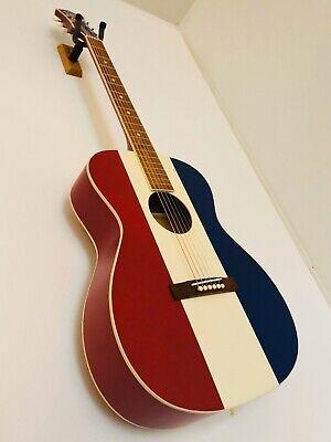 "Recording King  ROA-9-RWB Bakersfield ""Buck Owens"" Style Acoustic Guitar & Case"