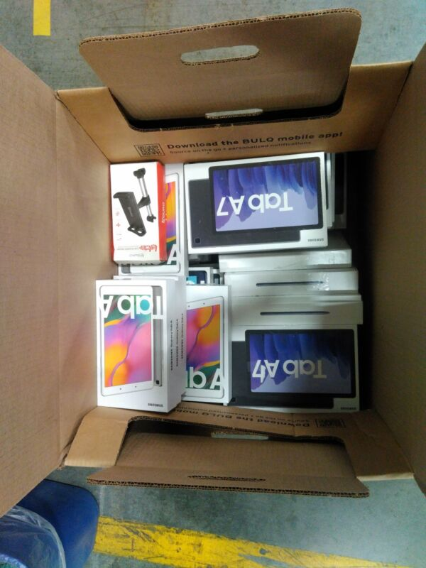 BULQ Liquidation Lot | Uninspected Returns | Computers/Tablets & Networking