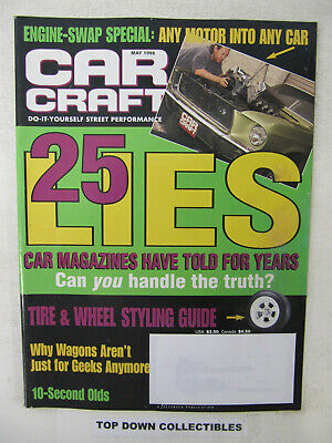 Car Craft Magazine   May  1998   The Best Station Wagons Of All