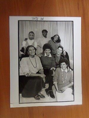 Vintage Glossy Press Photo Wbz Tv4 Boston Liz Walker Channel 4