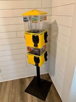 U-turn Terminator 8 Head Carousel Candy Vending Machine