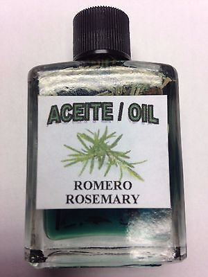 MYSTICAL / SPIRITUAL OIL ACEITE FOR SPELLS & ANOINTING 1/2 OZ ROSEMARY (ROMERO)