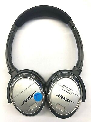 Bose QC3 Quiet Comfort 3 On Ear Headphones - Silver  (Distressed) - (49-5A)