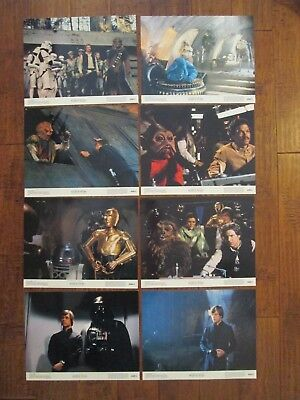 Return Of The Jedi   - Original  1983  Lobby Card Set + Bonus - Star Wars