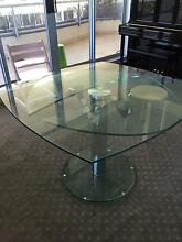 extendable glass table Chatswood West Willoughby Area Preview