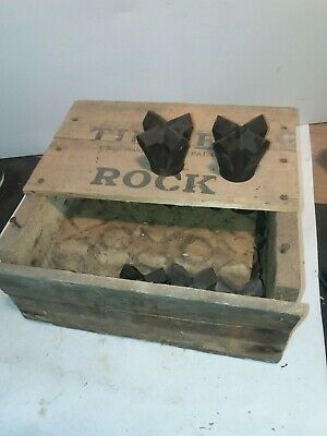 Box Timken 2 14 Drill Bits Vintage Gold Mining Rock Ore Drilling