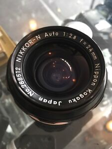 Nikkor-N 24mm f2.8 non AI