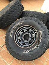 "31x10.5 hankook dynapro m/t on 15"" Sunraysia rims Redland Bay Redland Area Preview"