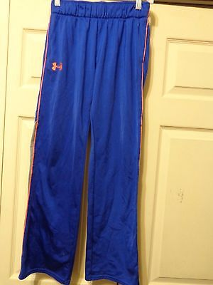UNDER ARMOUR SWEAT PANTS YOUTH GIRL LARGE BLUE/GREY
