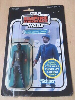 Vintage Star Wars Bespin Security Guard ESB 45 Back Moc.