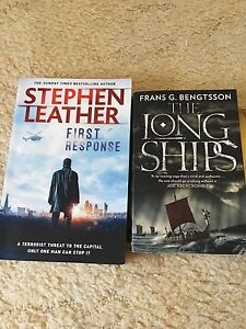 Free thriller books Merewether Heights Newcastle Area Preview