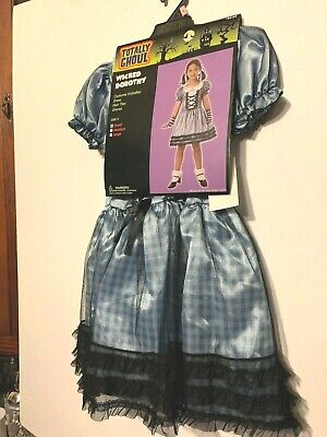 NWT Girl's S Totally Ghoul Wicked Dorothy Halloween Wizard of Oz