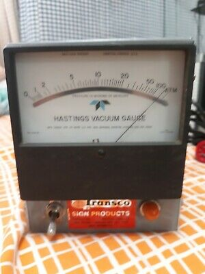 Hastings Instruments Vacuum Gauge Mpg Under One Or More Pressure In Microns Of