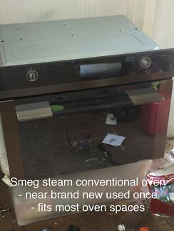 Smeg steam conventional oven