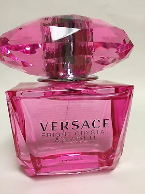 BRIGHT CRYSTAL ABSOLU By VERSACE Eau De Parfum Spray 3.0 OZ HUGE BOTTLE @
