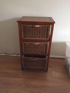 Side table and storage