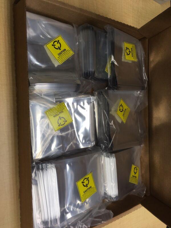 "3M 70046 Dri-Shield 2000 4"" X 6"" Moisture Barrier Anti Static Bags qty 100"