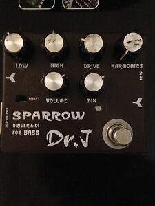 Dr.J Sparrow Bass Overdrive Mitcham Whitehorse Area Preview
