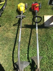 Weed trimmers and leaf blowers