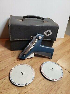 Vintage Dymo M-15 Embossing Label Maker