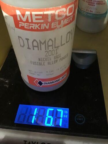 Metco Diamalloy Nickle Base Alloy Powder 1.6lbs