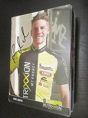 33116 Erik Mohs Radsport original signierte Autogrammkarte