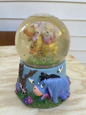 Disney Winnie the Pooh & Tigger/Eeyore Hundred Acre Wood Musical Snow Globe