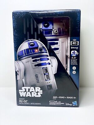 Star Wars Rc (Disney Hasbro Star Wars R2-D2: Smart R2D2 RC Remote Control Robot Bluetooth)