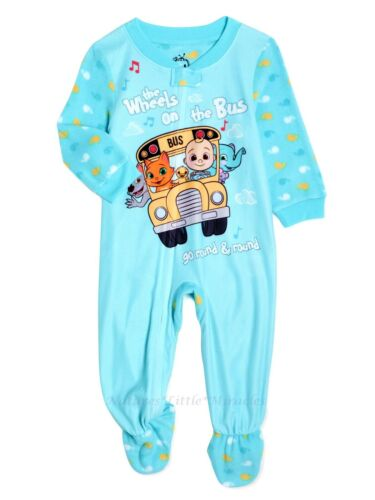 Cocomelon Pajamas Size 3T 4T 5T Boys Girls Toddler Blanket Sleeper One Piece NWT