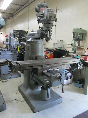 Bridgeport Series Ii Special 2hp 230v Variable Speed Milling Machine W58 Table