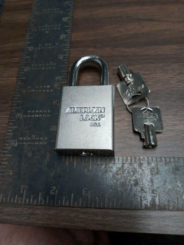 11 American tubular key Padlock  KEYED ALIKE