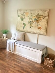 Beautiful Entryway or Storage Bench