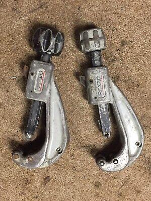 2 Ridgid No. 151 - Quick-acting Tubing Cutter  14 To 1-58