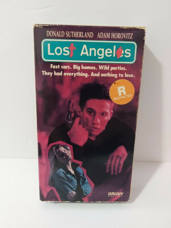 Lost Angels VHS Video Tape