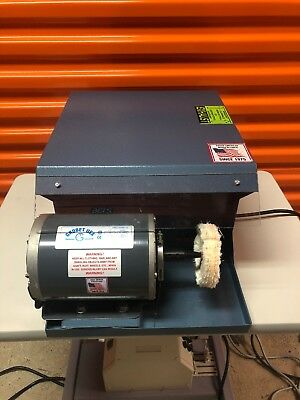 Grobet Dust Collector Single Spindle For 4 Buffs 13 Hp 110 Volt 4710500