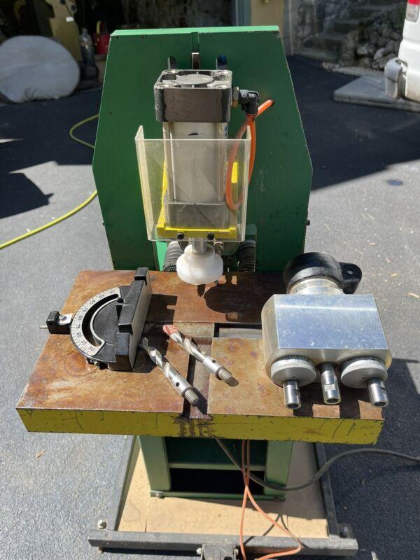 wootec horizontal phnematic boring machine
