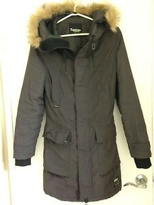 Grey winter jacket, size small