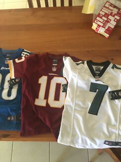 YOUTH NFL JERSEYS NEVER WORN BRAND NEW WITH TAGS