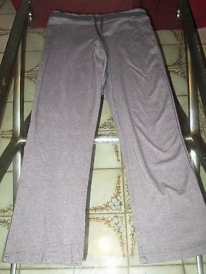 Point Sports Wear Womens Active Athletic Leggings  Gray Yoga  Pants Size Small