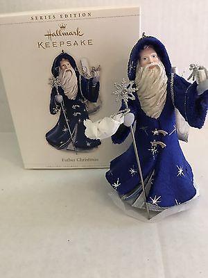 Hallmark Keepsake Father Christmas #3 Rare 2006 New In Box Ornament