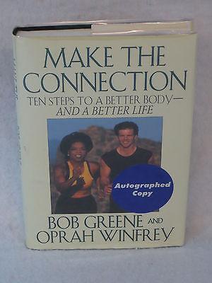 Oprah Winfrey   Bob Greene Make The Connection Hyperion C  1996 1St Ed  Signed