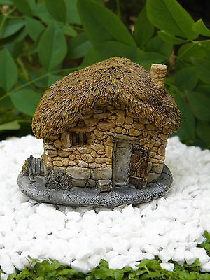 Miniature Dollhouse FAIRY GARDEN ~ Small Thatched ...