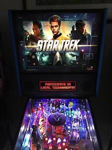 Star Trek pro model PInball machine Hope Island Gold Coast North Preview