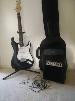 Barely used Electric Guitar, Amp, Case, Stand and Picks Robina Gold Coast South Preview