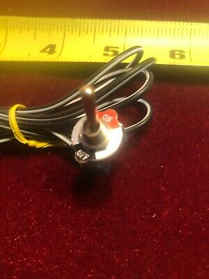 Wired Mini Toggle Switch On Off With Bezel Made By Viper