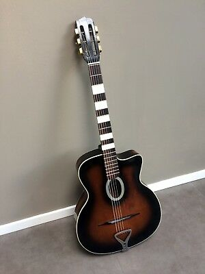 40's/50's Sonora Gypsy Jazz / Django / Manouche guitar (Busato?), used for sale  Shipping to South Africa