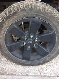 Factory Ford F-150 wheels and tires