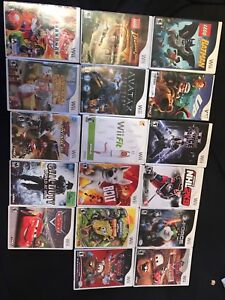 Various Wii games $5 ea