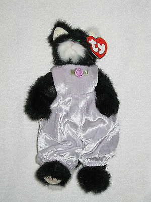 Purrcy 'You're The Cat's Meow' TY Cat Beanie Baby Attic Treasures Collection